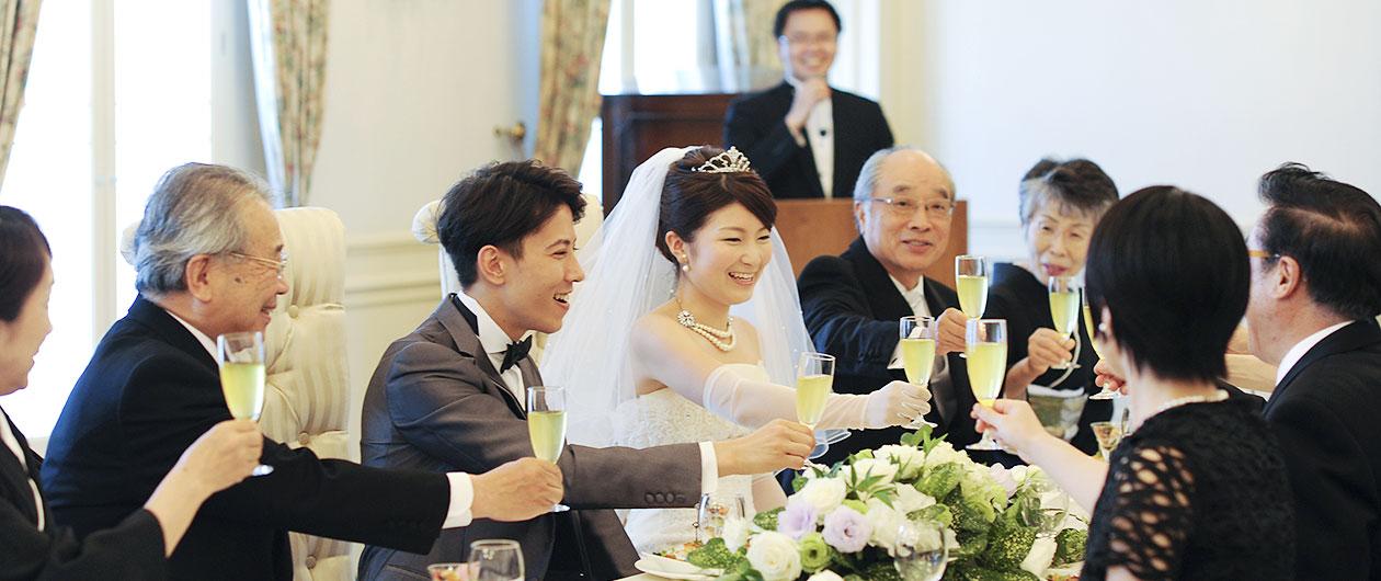 準備は最短2週間<br>【10名様50万円】<br>ご家族ご親族 結婚式プラン